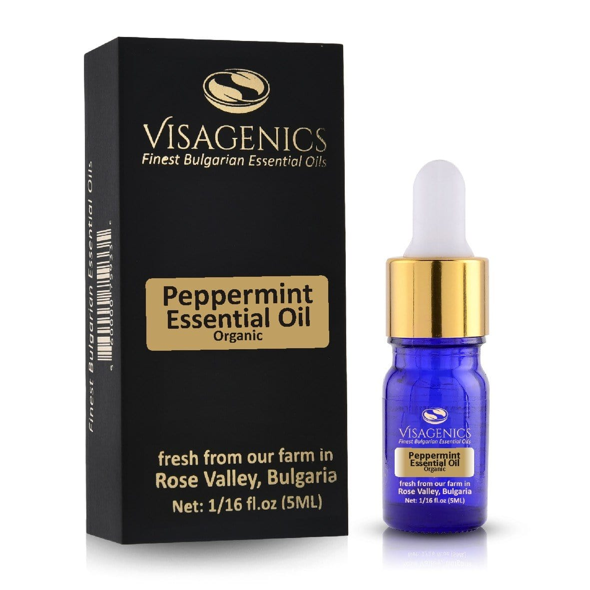Organic Peppermint Essential Oil | Premium Quality | 5 ml Sample