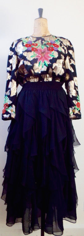 Vintage Diane Freis Dress