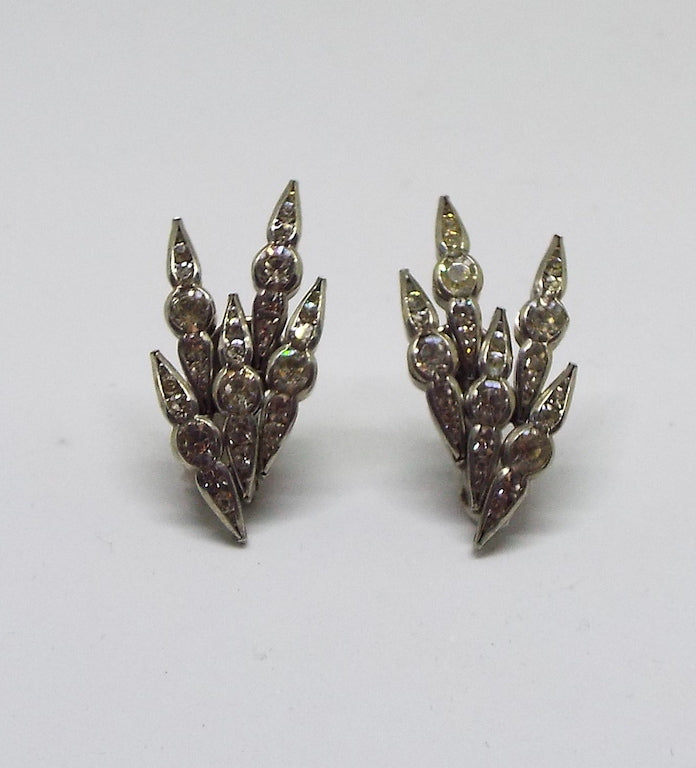 Art Deco Diamanté Earrings