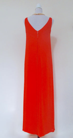 60s Silk Frank Usher Dress