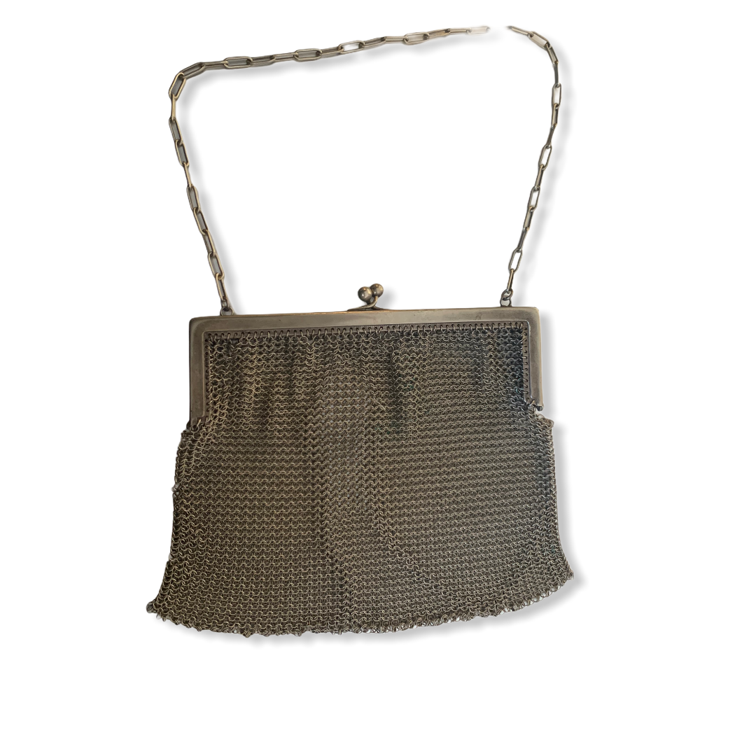 Art Nouveau Chainmail Bag