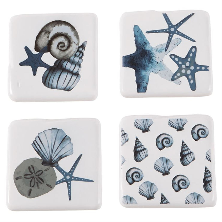 Hilton Head Shell Coaster Set of 4 - Shop House Market