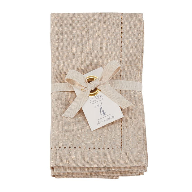 Oatmeal Cotton Napkins (Set of 4) - Shop House Market