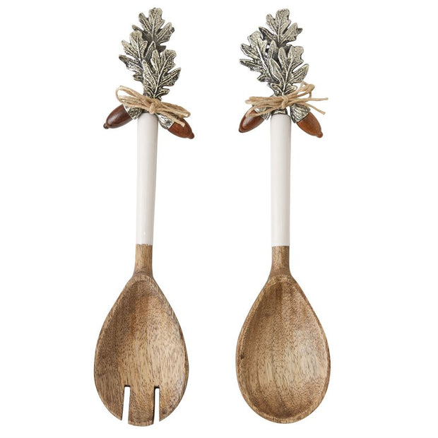 Milton Acorn Salad Servers - Shop House Market