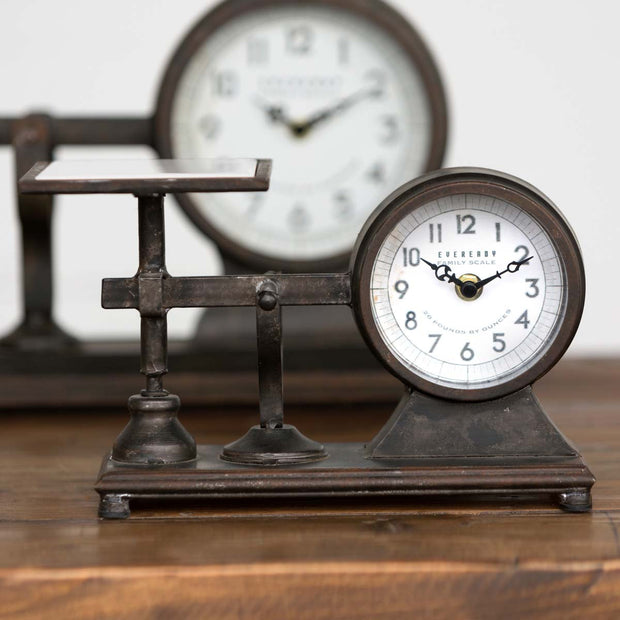 Decorative Hardware Scale Clock - Shop House Market