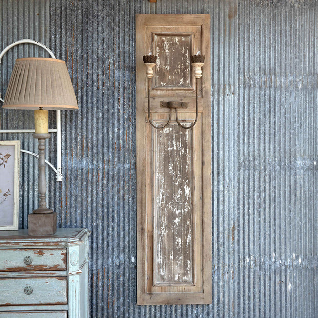 French Panel Wall Sconce - Shop House Market