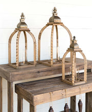 Farmhouse Wooden Candleholder - Shop House Market