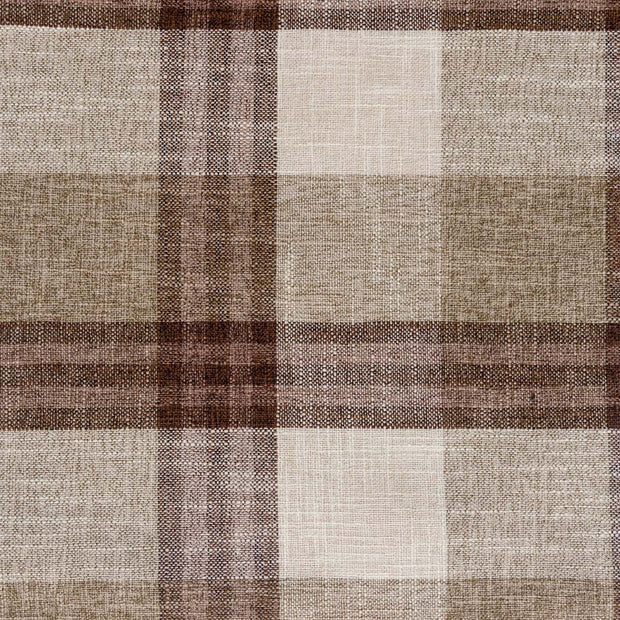 Brown Plaid Throw Pillow - Shop House Market