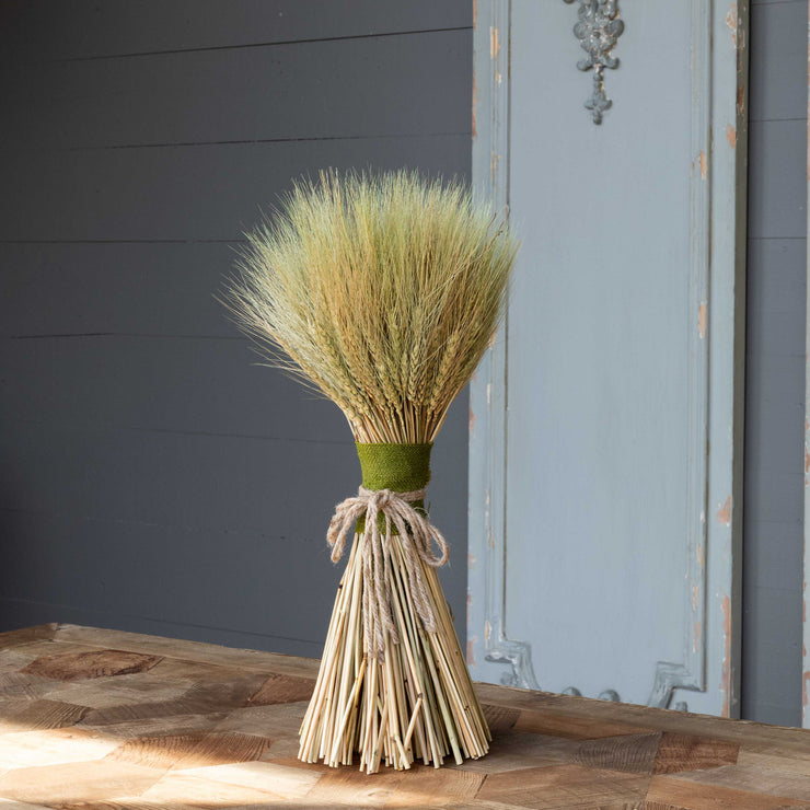 "Gathered Wheat Sheath 19"" - Shop House Market"
