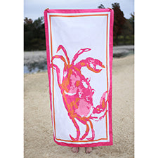 Crab Beach Towel - Shop House Market