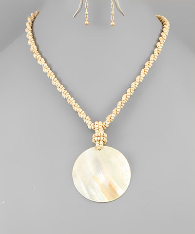 Shell Drop Necklace - Shop House Market