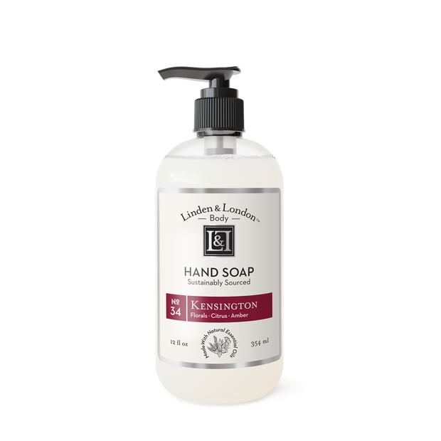Natural & Sustainably Sourced Hand Soap.  Made w/ select Organic Ingredients & Essential Oils - Shop House Market