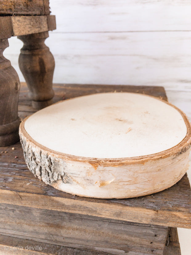 Birch Round Disc w/ Bark (4 in a bag) GREAT VALUE - Shop House Market