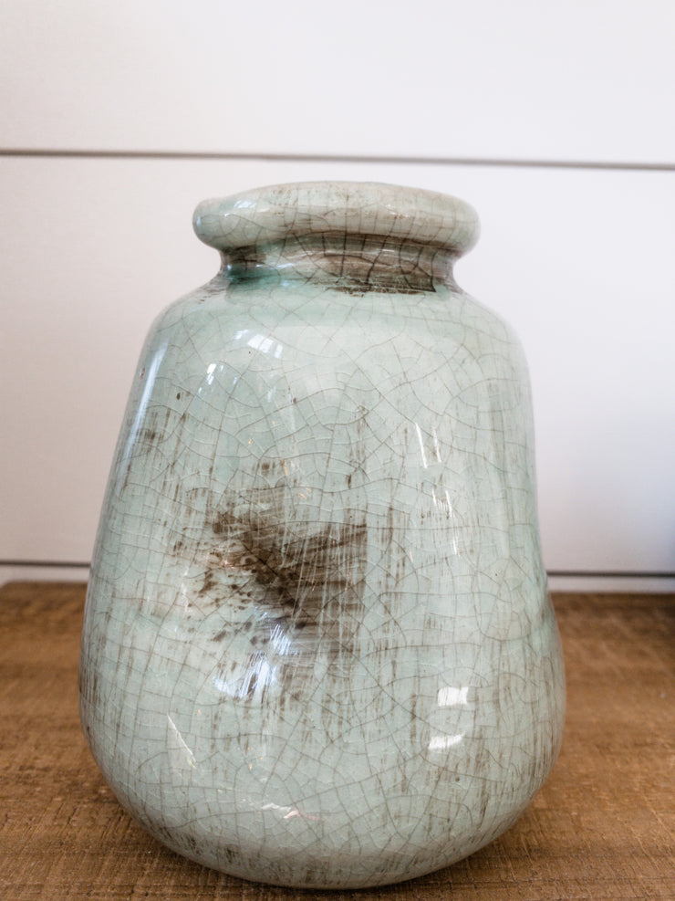 "May River ""Mini"" Turquoise Vase"