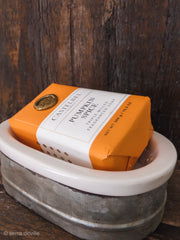 Farmhouse Tin & Porcelain Soap Dish - Shop House Market