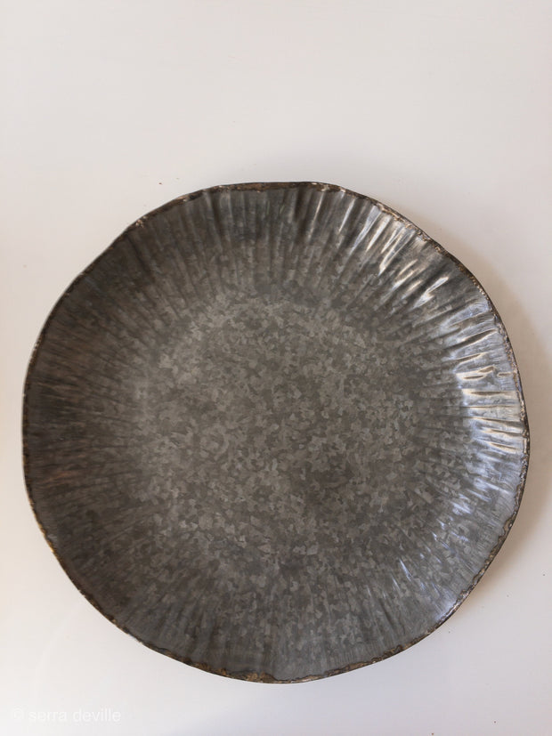 Celebrate Fluted Galvanized Tray - Shop House Market