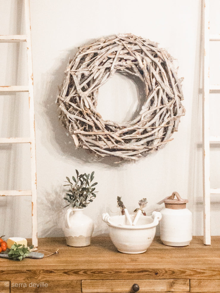 "BIG Willow Root Christmas Wreath  -- 25"" D - Shop House Market"