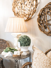 Antique White Lamp - Shop House Market