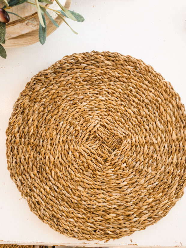 Seagrass Round Placemats - Shop House Market