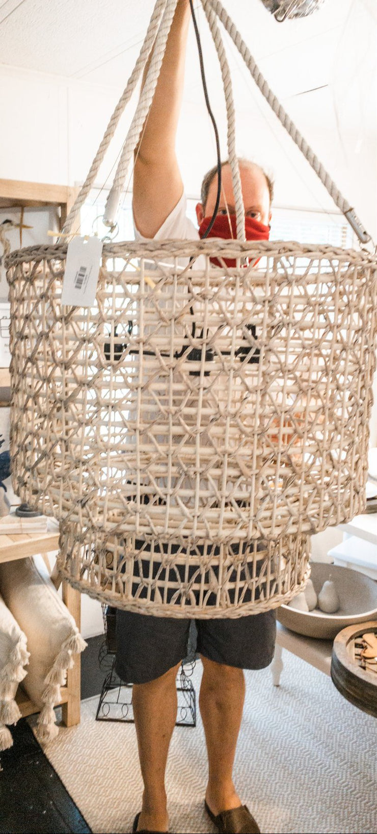 Sea Pine Creek Chandelier - Shop House Market