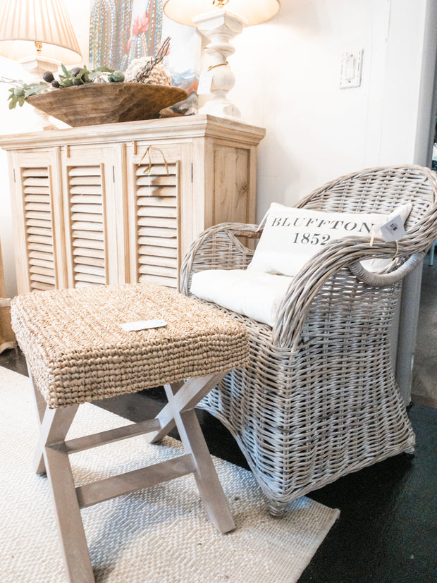 Carly White Wash Chair - Shop House Market