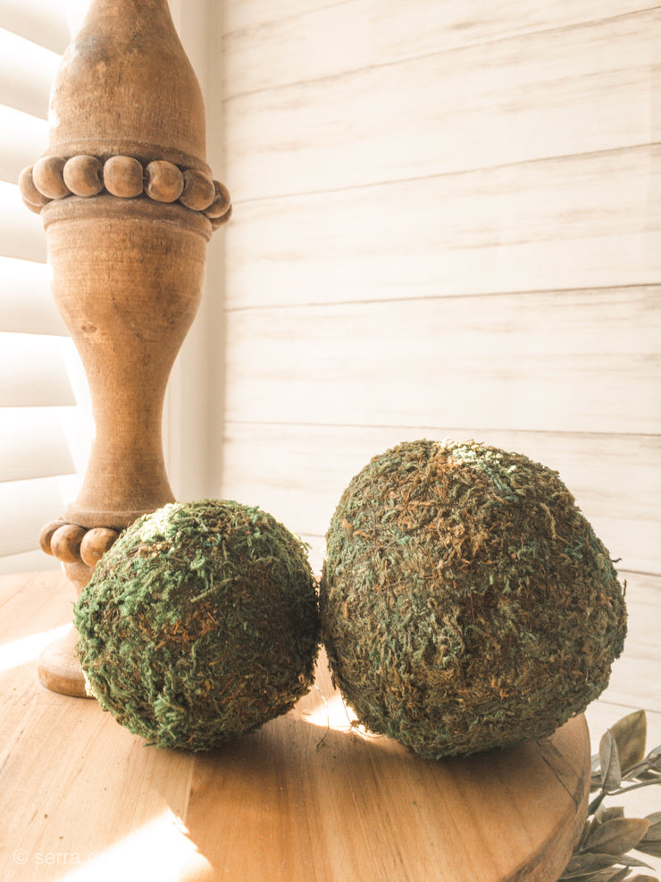 Green Moss Ball (One) - Shop House Market