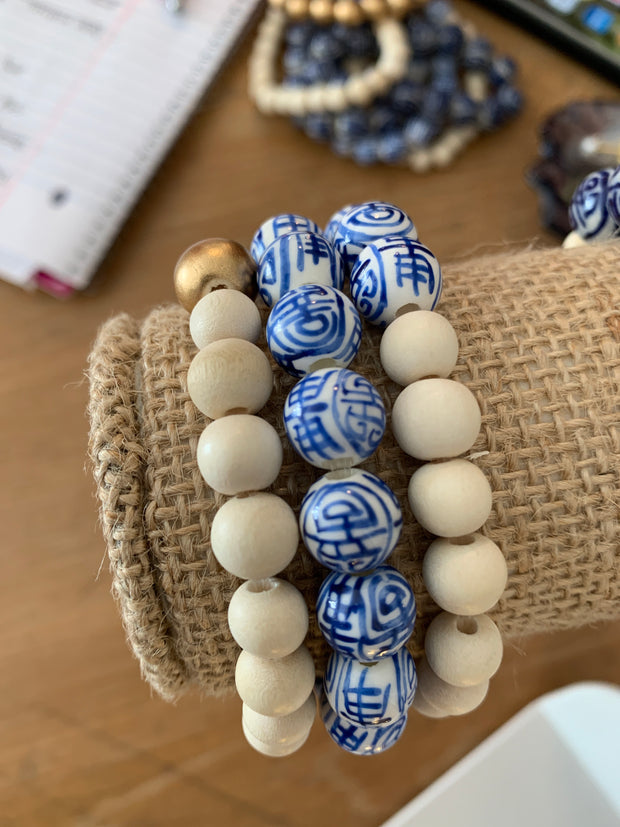 Chinoiserie Bracelets - Shop House Market