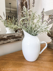 Farmhouse Enamelware Pitcher - Shop House Market