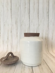 May River Hand Thrown Jar w/ Lid - Shop House Market