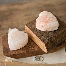 Small Himalayan Salt Heart - Shop House Market