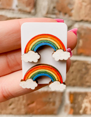Rainbows (Adult Earrings)