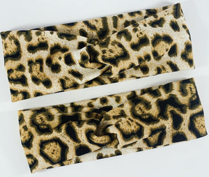 Pale Charged (Leopard) - Twist Band (Mama Size)