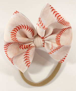 Baseball (Puffy Bow)