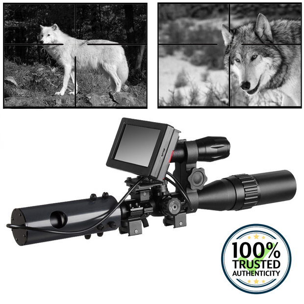 Digital Night Vision Scope for Rifle Hunting with Camera