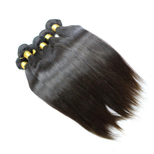 Rosalyn (Indian Straight) - 2 Bundles + Closure
