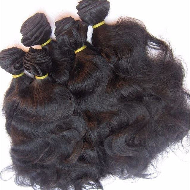 Sultry Chick (Brazilian Natural Wavy) - 2 Bundles + Closure