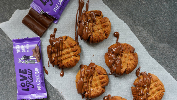 Salted Almond Butter Cookies