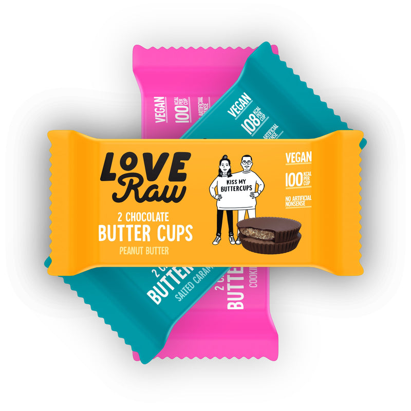 LoveRaw Vegan Chocolate 3 Flavour Pack
