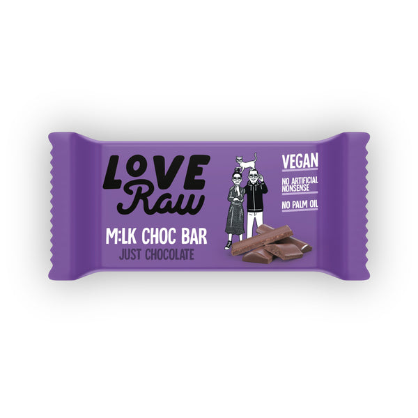 Just Chocolate M:lk Choc Bar M:lk Choc Bars Loveraw