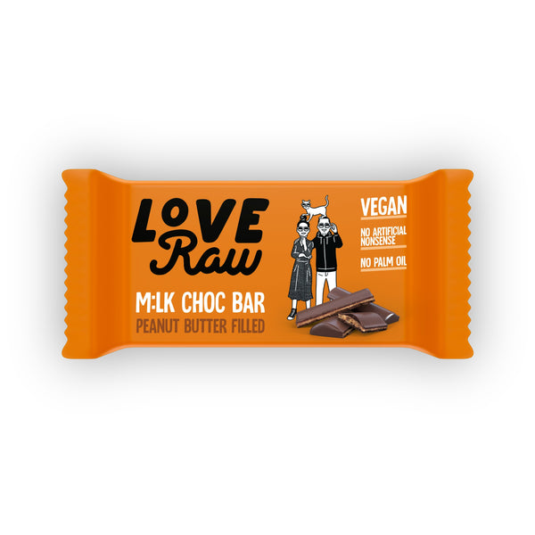 Peanut Butter M:lk Choc Bar M:lk Choc Bars Loveraw