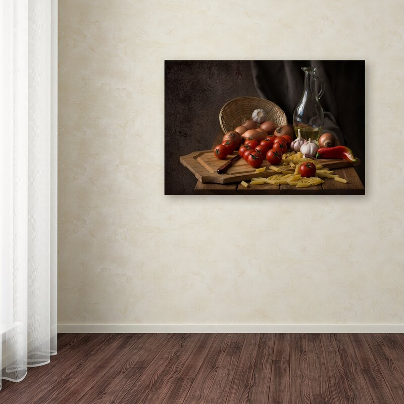 'Buon Appetito' Photographic Print on Wrapped Canvas