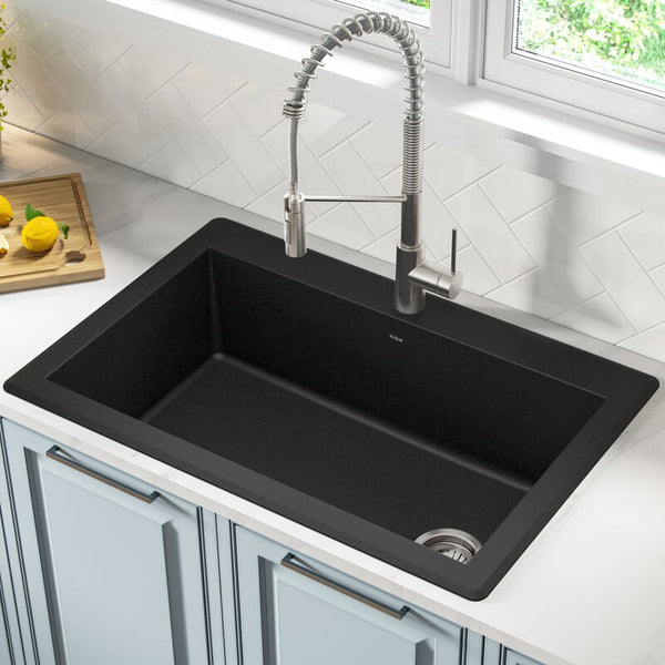 "Forteza™ 33"" L x 22"" W Drop-In Kitchen Sink"