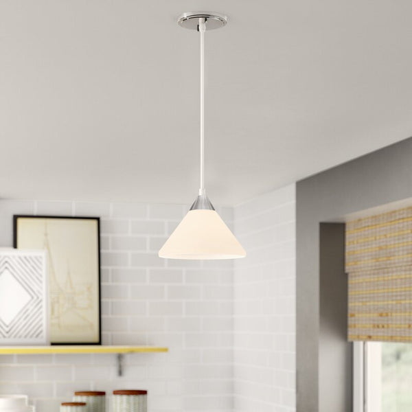 Kellam 1 - Light Single Cone Pendant