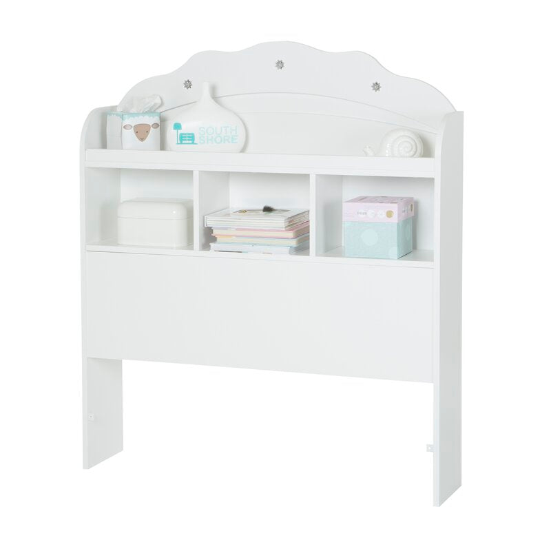 Tiara Twin Bookcase Headboard
