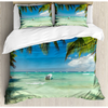 Ambesonne Tropical King Duvet Cover Set