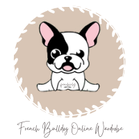 Frenchiely logo dog clothing store