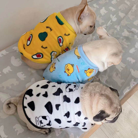 Frenchiely French Bulldog Pullover Shirt for medium dogs 01