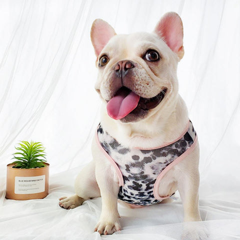 Dog Leopard Breathable Summer Sunscreen Shirt Vest for Bulldog - Frenchiely