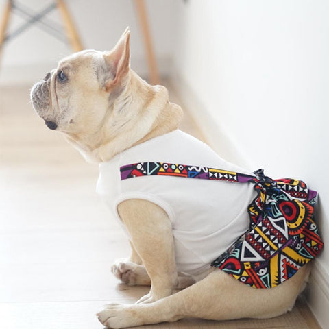 Dog Shirt Dress for French Bulldogs - Frenchiely