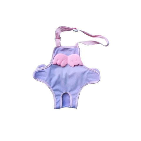 Female Dog Period Sanitary Pants with Wings - Frenchiely